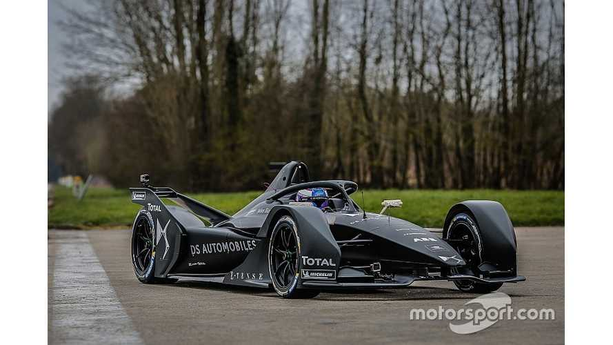 Formula E Gen 2 Race Car Called A