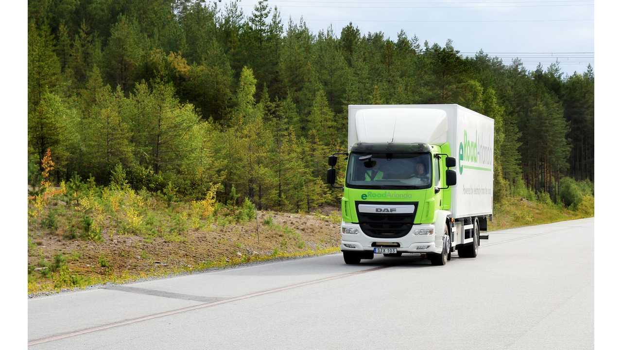 Sweden Looks To Make Conductive Charging Roads Reality