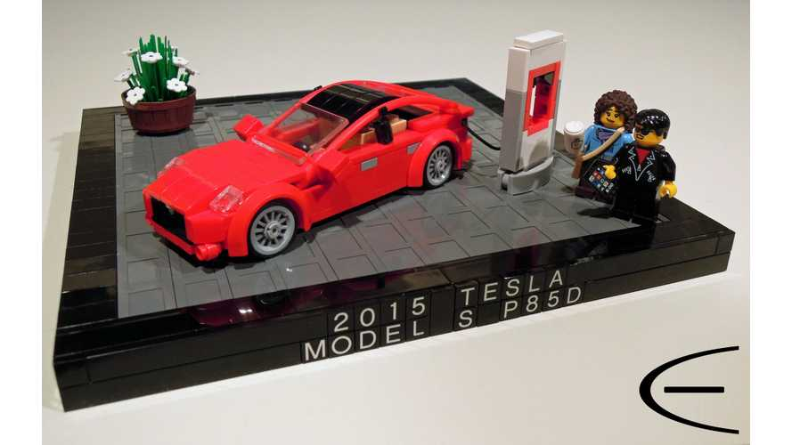 LEGO Tesla Model S Comes To Life