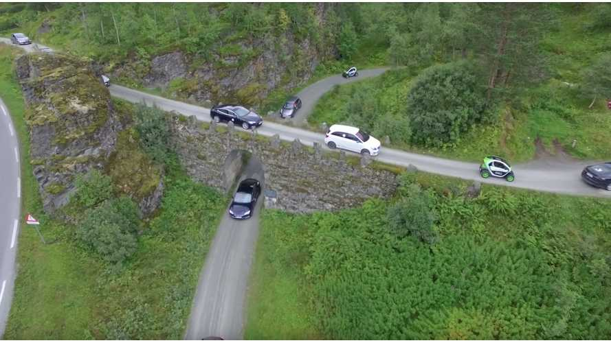 20 Years Of Electric Car History In Norway - Video