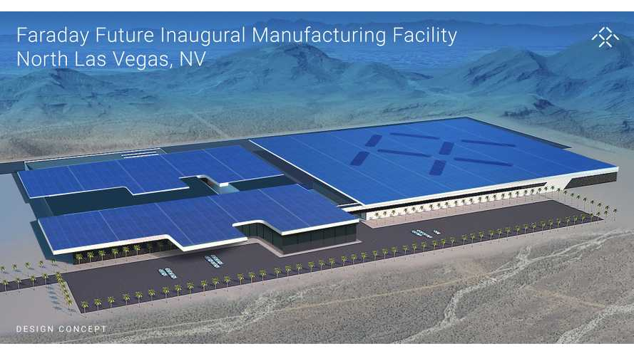 Faraday Future To Build $1 Billion Factory Outside Of Las Vegas, Employ 4,500