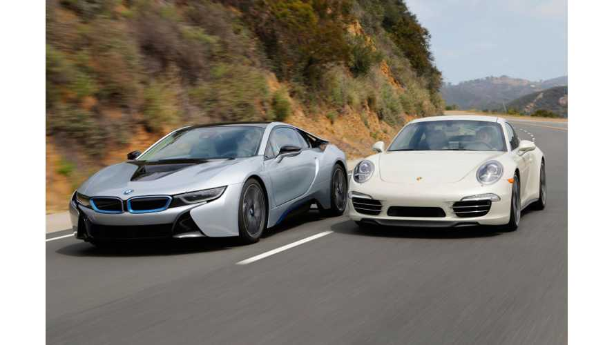 BMW i8: Sexy, Superhuman, Porsche 911 Killer - Video