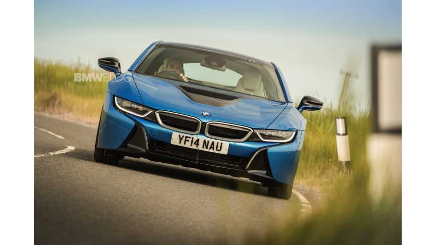 Top Gear's Jeremy Clarkson Reviews BMW i8 -