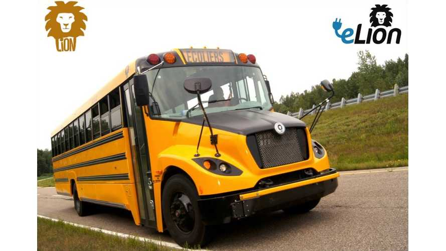 eLion School Bus Test Drive - Video