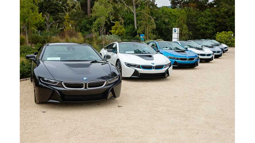 BMW Delivers First US i8