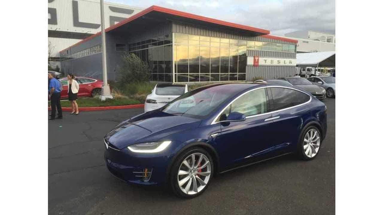 Tesla Model X Confirmed For Geneva Motor Show