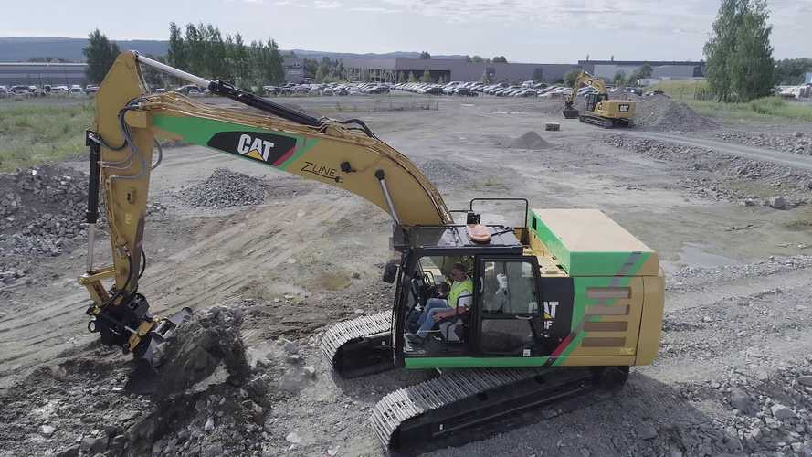Pon Equipment Reveals Electric Caterpillar Excavator