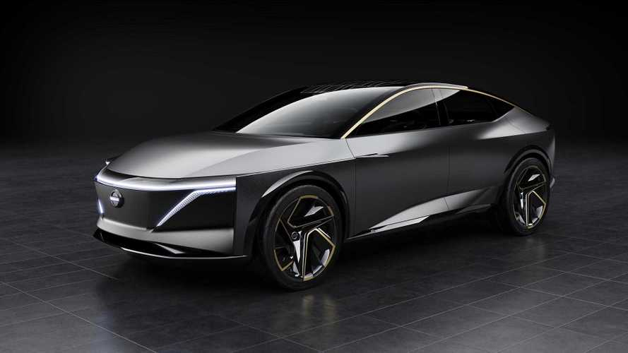 Nissan IMs Concept Debuts As Sleek 380-Mile Electric Sport Sedan