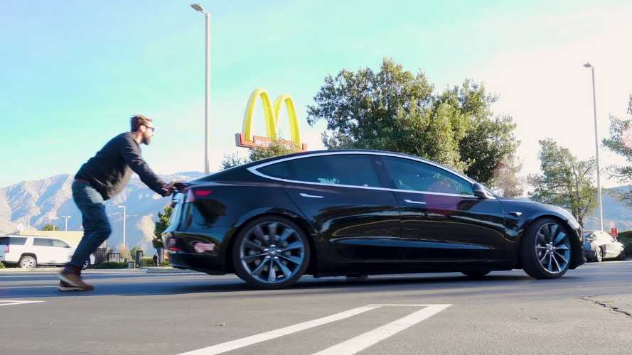 Year-Old Tesla Model 3 Range Tested Until Battery Dies: Video