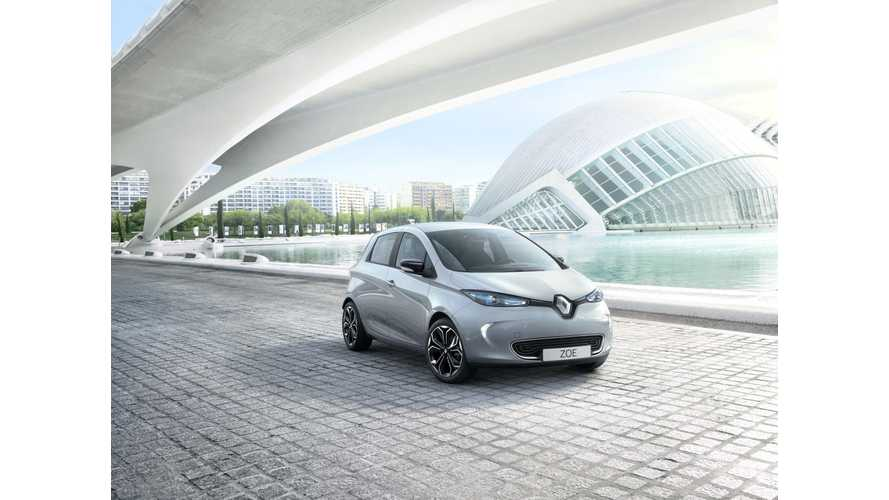 Renault Introduces ZOE S Edition In UK