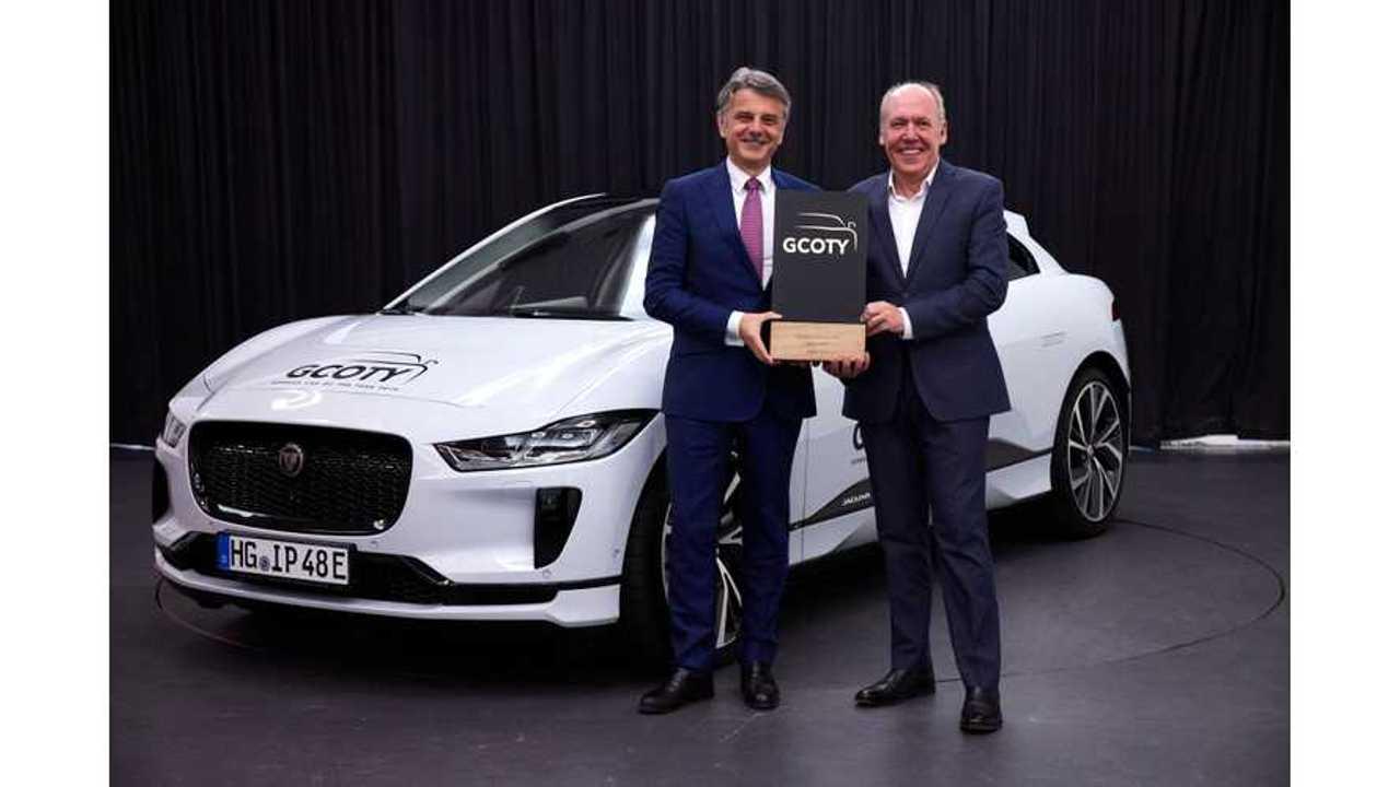 Jaguar I-PACE: 2019 German Car of the Year Award