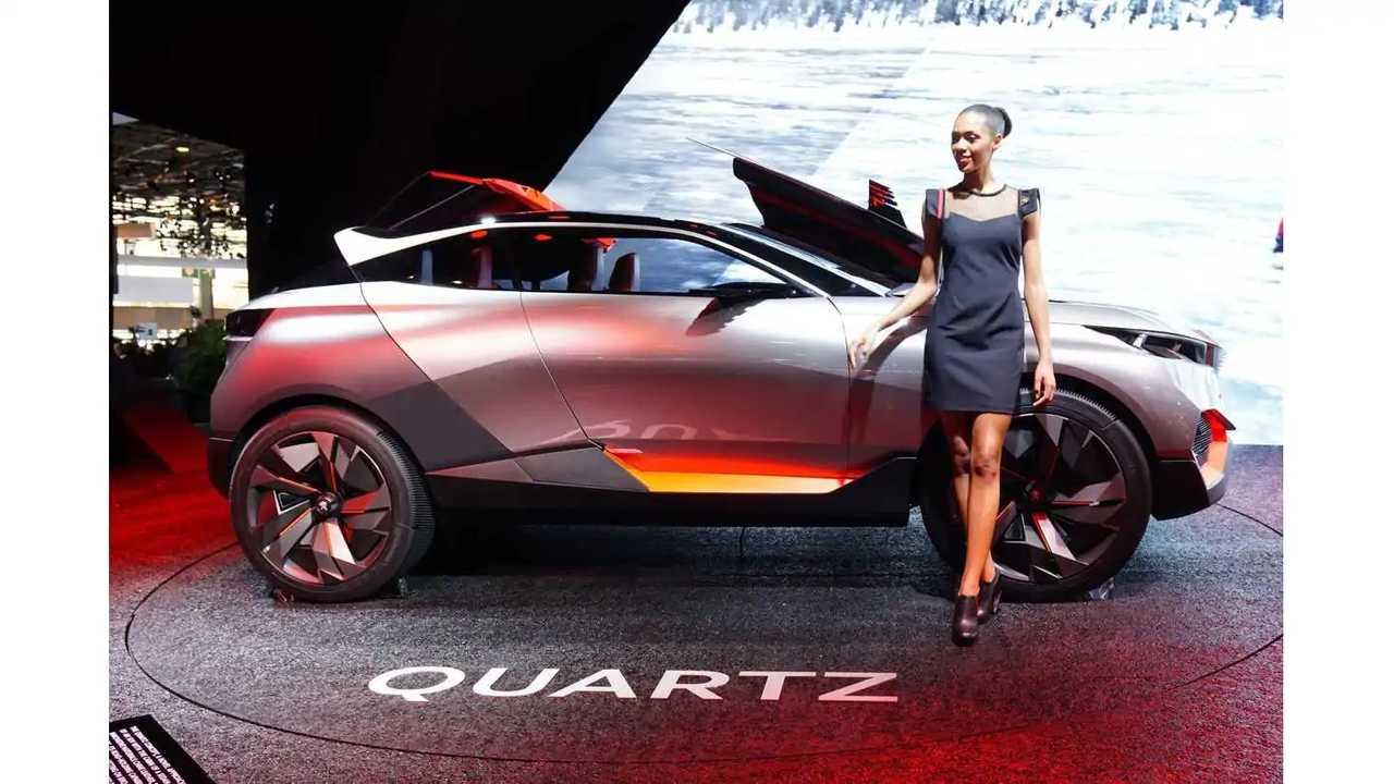 2014 Paris Motor Show: Peugeot Quartz