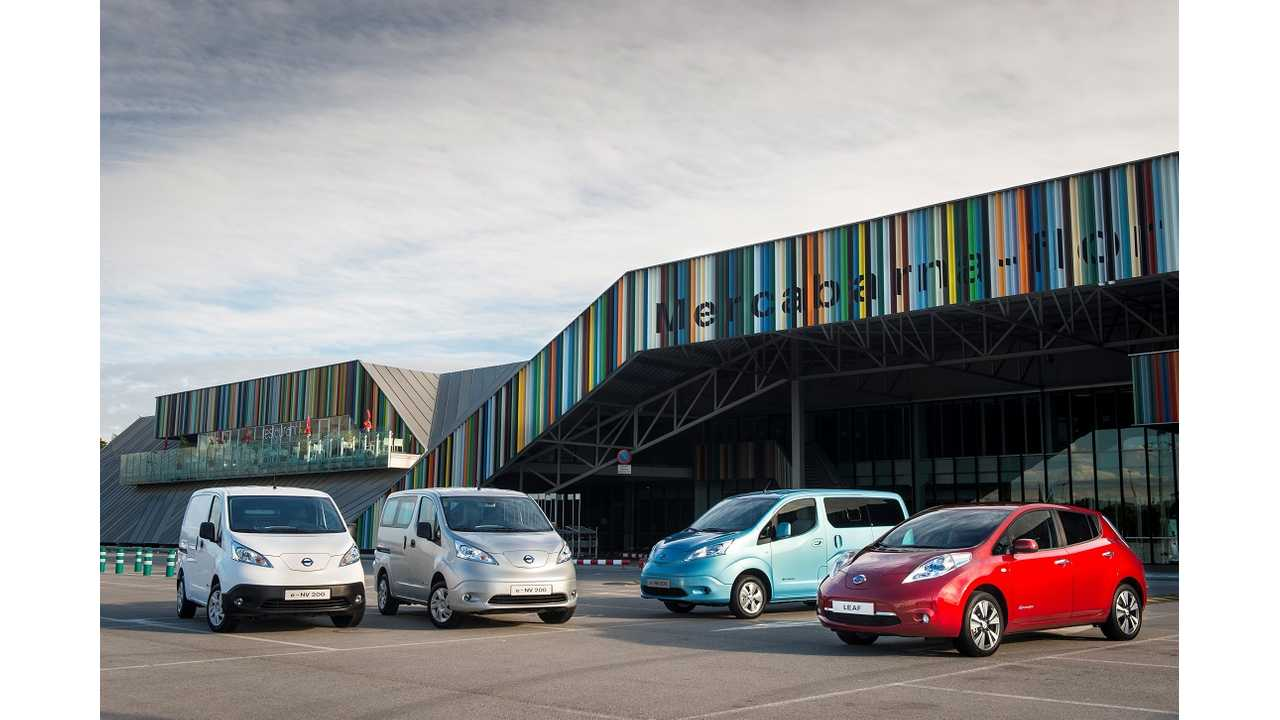 LEAF & e-NV200 Help Nissan Earn Ultra Low Emission Vehicle Manufacturer of the Year Title