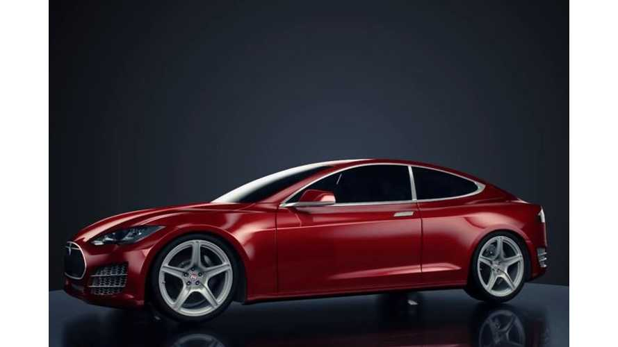 Tesla Model S Concept Coupe -  Images + Video