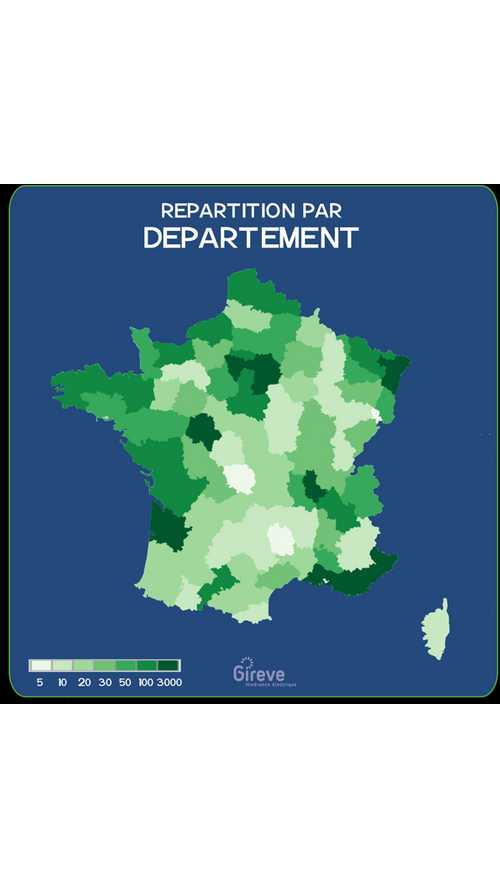 France Reveals Charging Point Density Map
