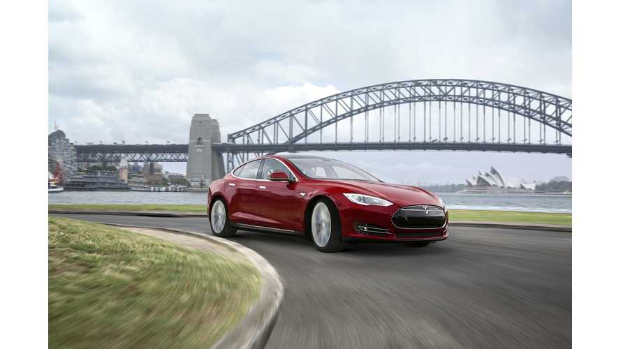 Tesla Opens Massive Store In Australia