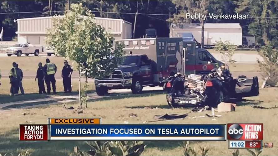 Police Unable To Confirm If Laptop Or DVD Were In Use During Fatal Tesla Model S Crash