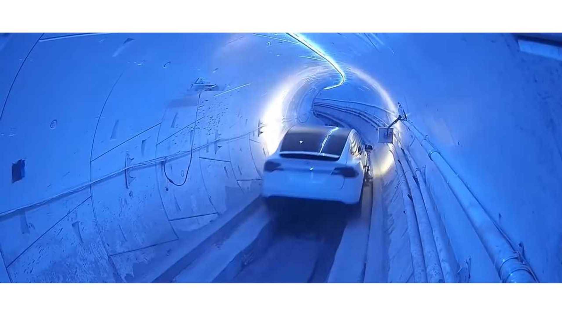 Watch The Boring Tunnel Race In LA: Video