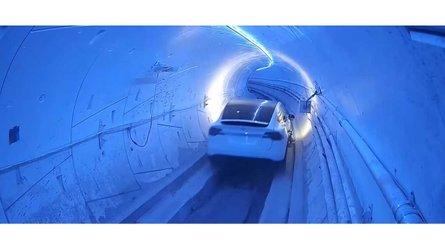 Watch The Tesla Model 3 Boring Tunnel Race In LA: Video