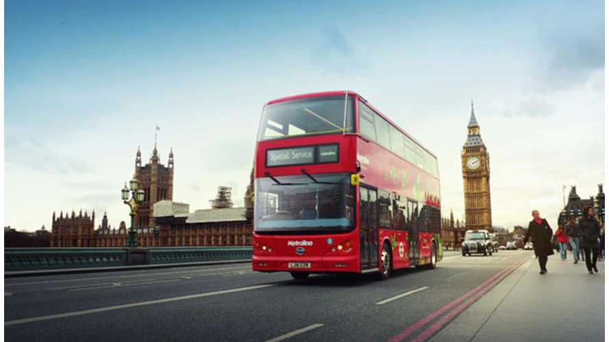 Metroline's BYD Battery Double Decker In Service For London - Video