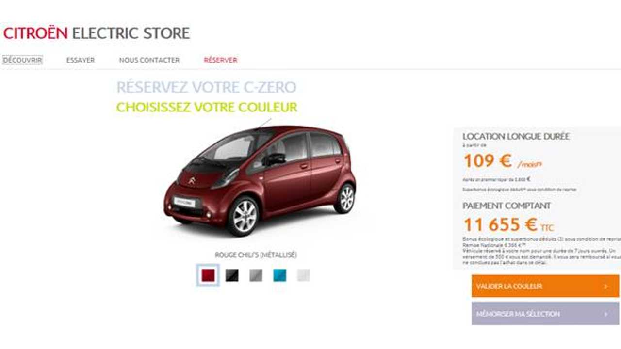 Citroën France Launched Citroën Electric Store With EVs