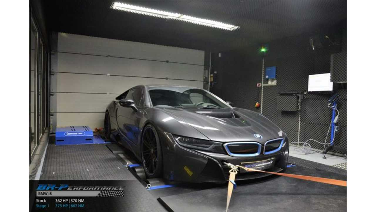 Tuned BMW i8 Pumps Out More Horsepower, Torque