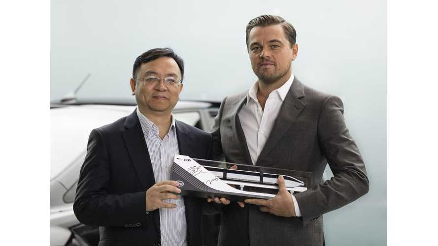 Leonardo DiCaprio Promotes Electric Vehicles For BYD As New Brand Ambassador