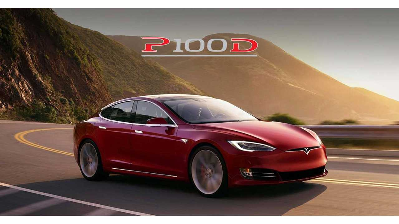 Be careful not to confuse the Model S 100D with P100D. The