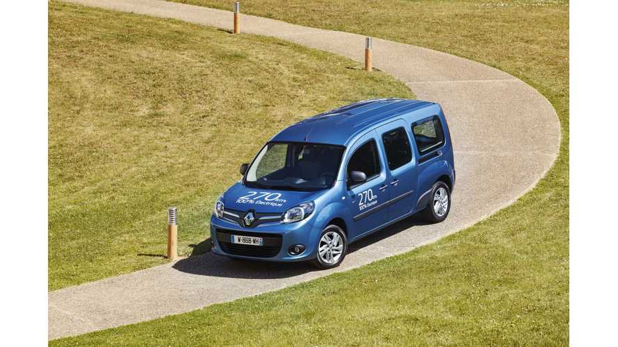 New Renault Kangoo Z.E. Gets Larger Battery, Motor, Charger And Heat Pump
