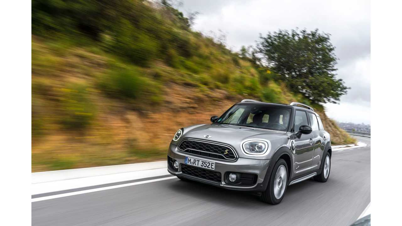 BMW Plug-In Sales In June At Nearly 9,500. MINI Joins The Party
