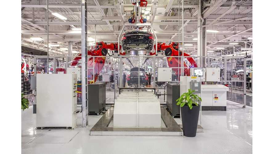 What's The Scoop On Tesla Fremont Factory's Secret 2nd Floor?