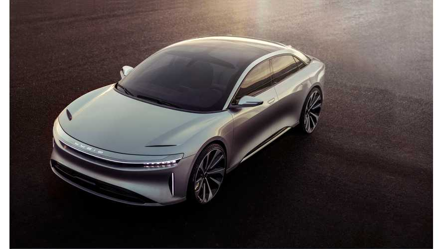 Lucid Motors Series D Financing Round Will Help Fund $700 Million Factory
