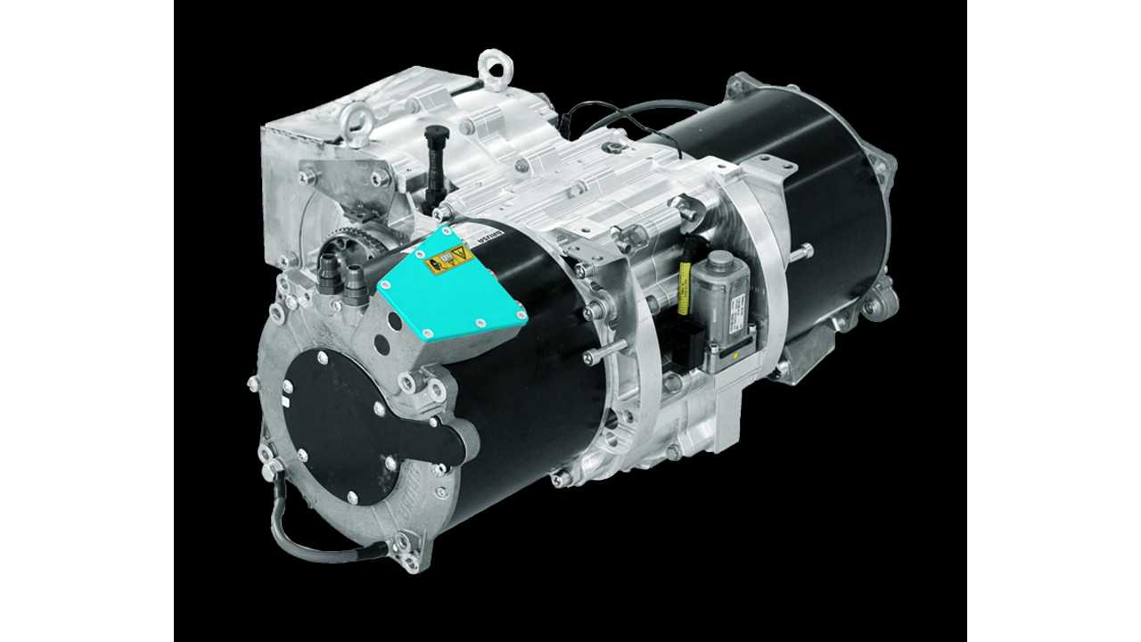 Kreisel Electric automated 2-speed transmission for electric mobility applications