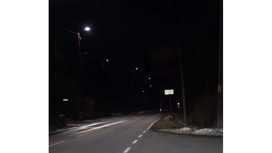 Bjorn Nyland On Norway's Genius Self-Dimming Streetlights - Video