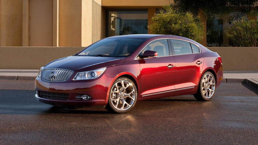 Buick LaCrosse GL Concept showcases fancier interior for L.A