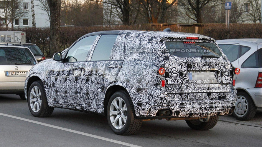 2014 BMW X5 full-body prototype spied for first time