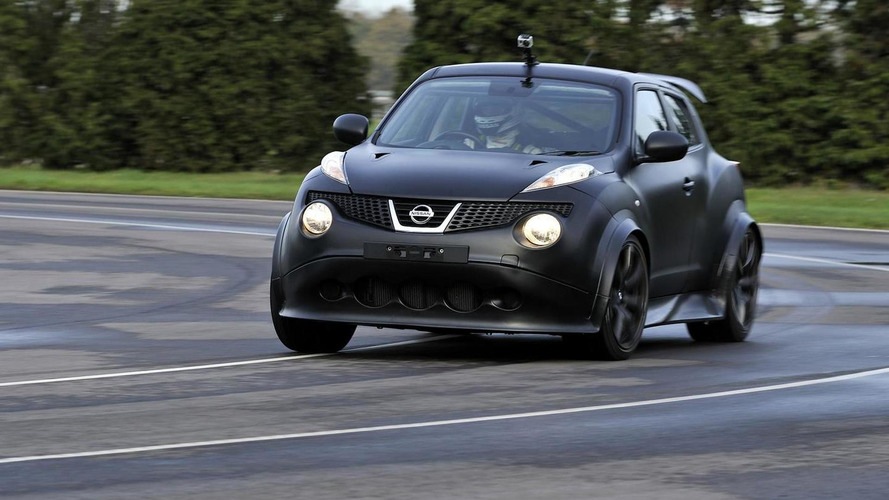 First Nissan Juke-R delivered [videos]