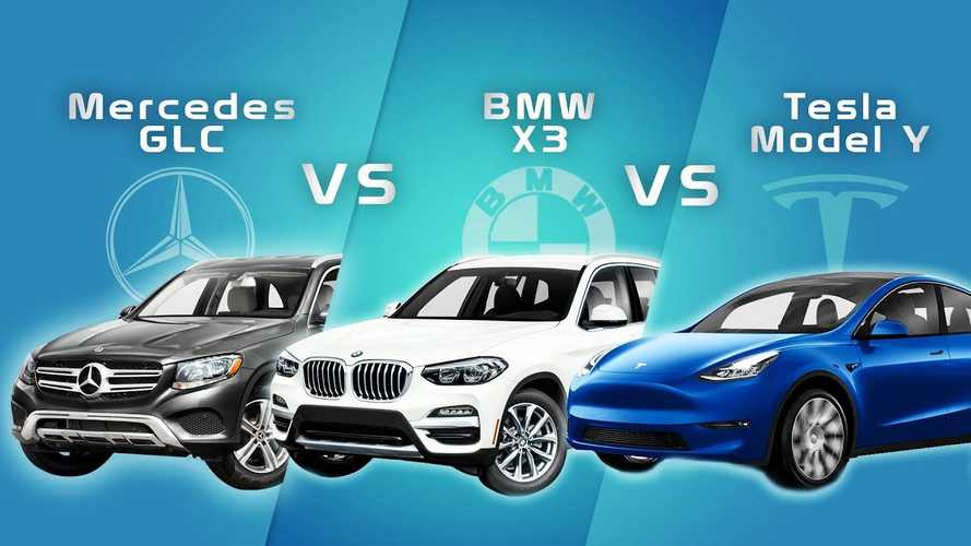 Tesla Model Y Vs BMW X3 & Mercedes GLC: How Do They Stack Up?