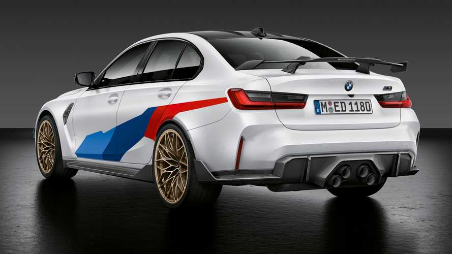 2021 BMW M3 and M4 gain centre exhaust and other M Performance Parts
