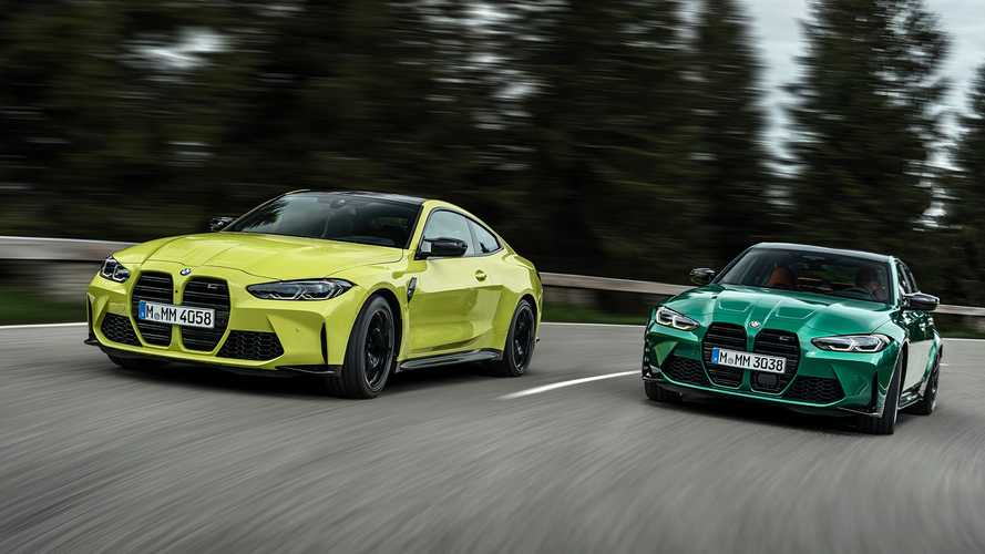 Novos BMW M3 e M4 Competition 2021 chegam com 517 cv e opção de tração integral