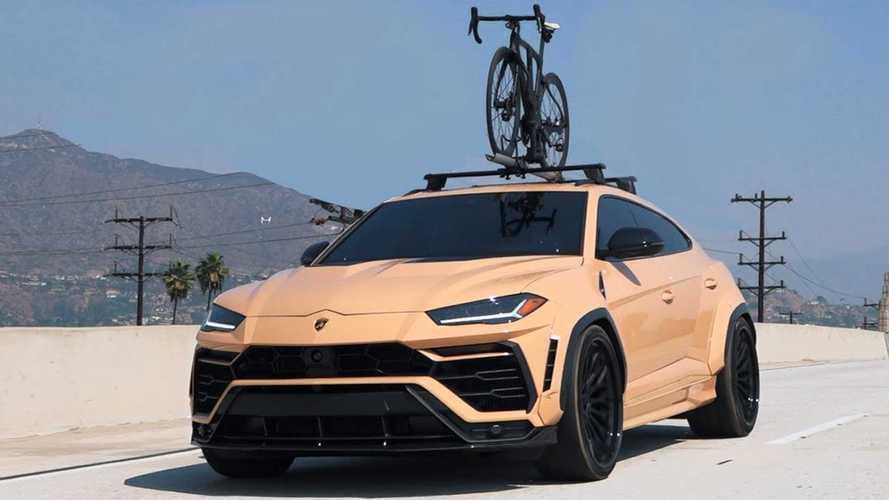 Felár ellenében kapott sivatagi álcát a Lamborghini Urus