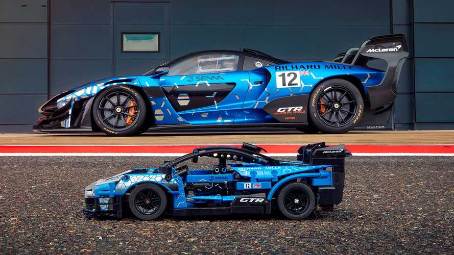 McLaren get Lego Technic treatment for first time with epic Senna GTR