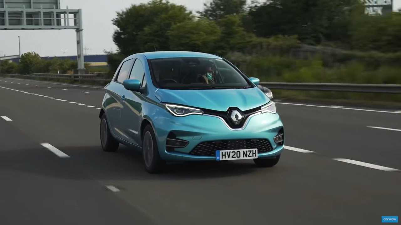 Renault Zoe range test