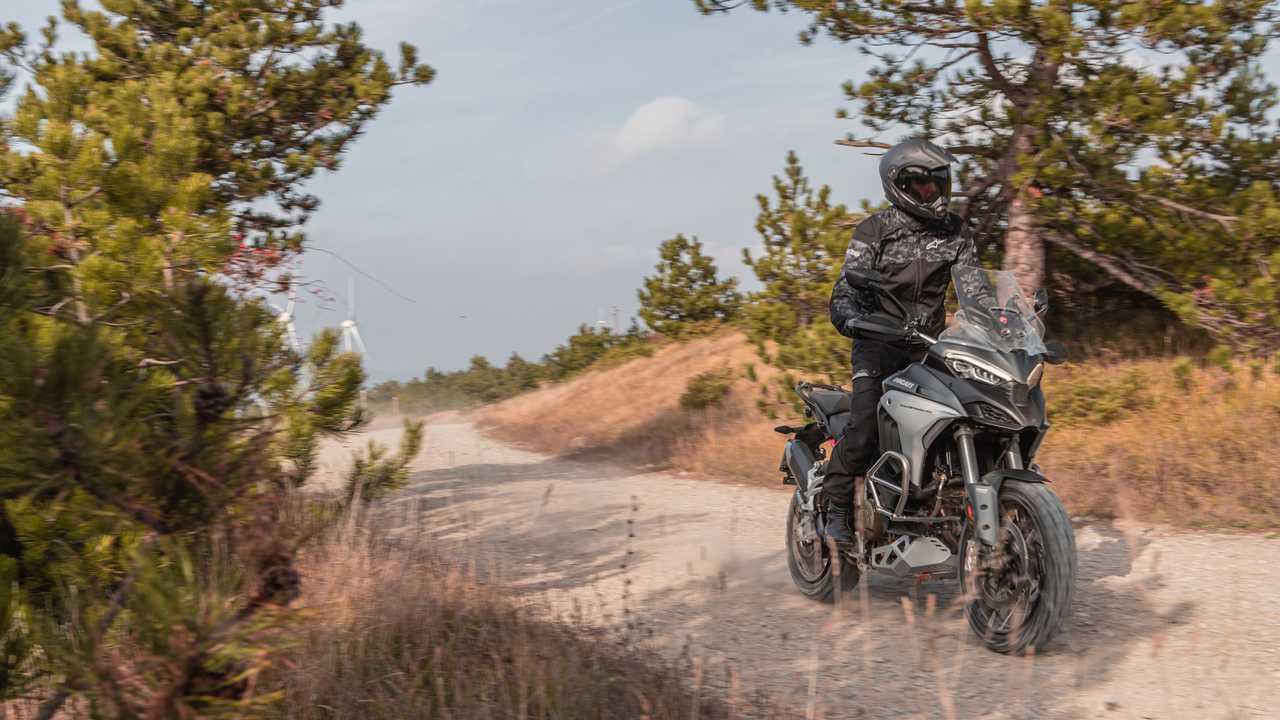 Ducati Multistrada V4 - The test