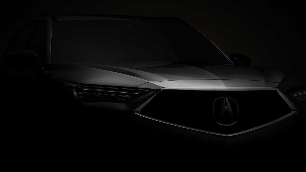 2021 Acura MDX Teaser