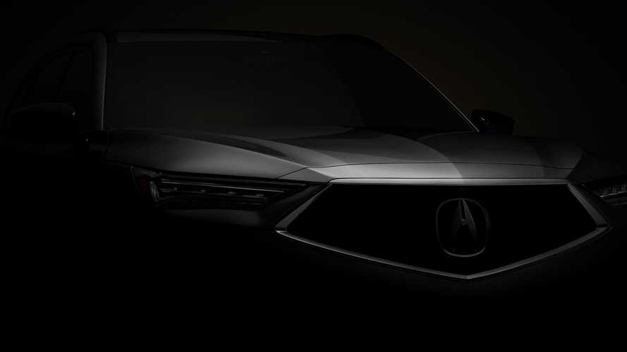 2022 Acura MDX Teased Ahead Of December 8 Debut