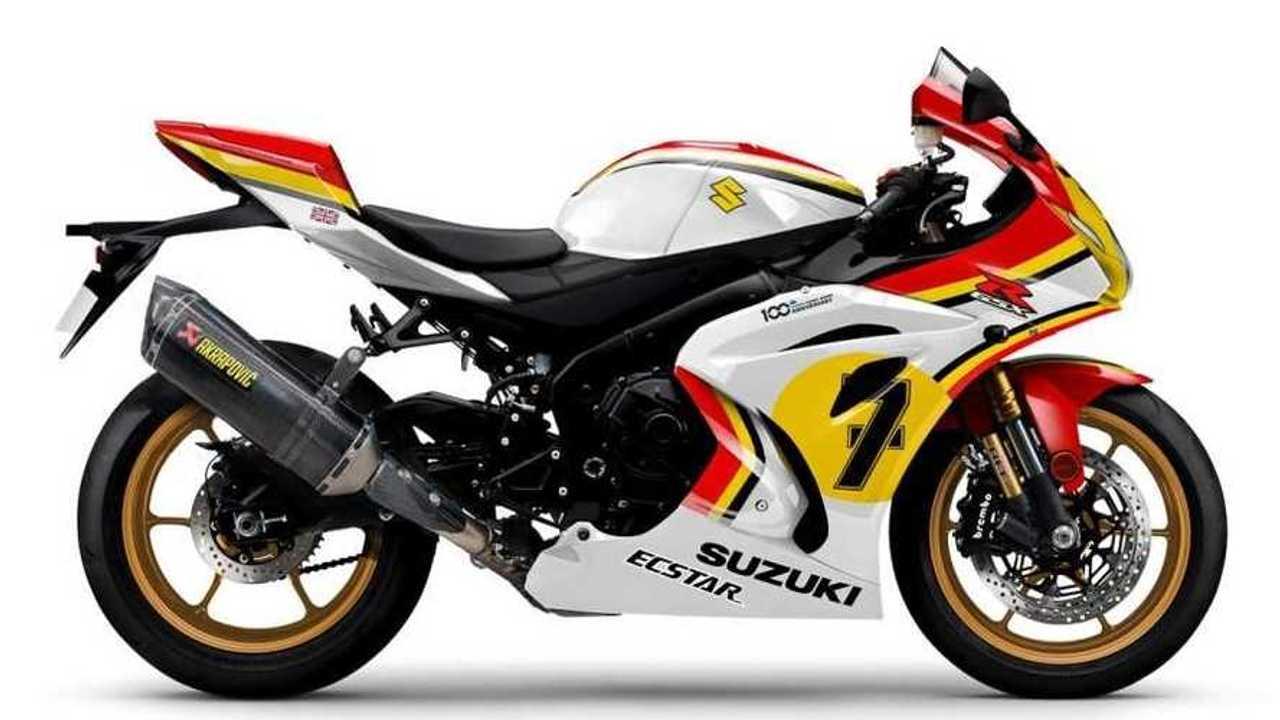 2021 Suzuki GSX-R1000R Legend Edition -Sheene