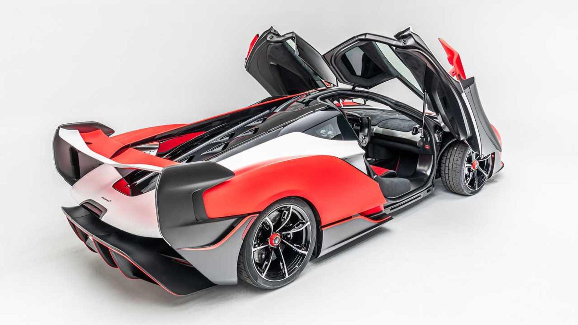 2021 McLaren Sabre Doors
