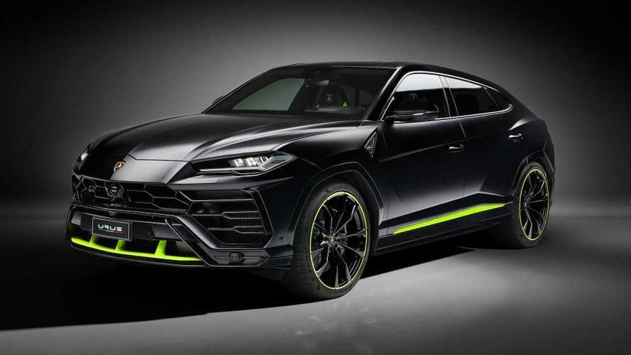 Get a splash of neon with the Lamborghini Urus Graphite Capsule