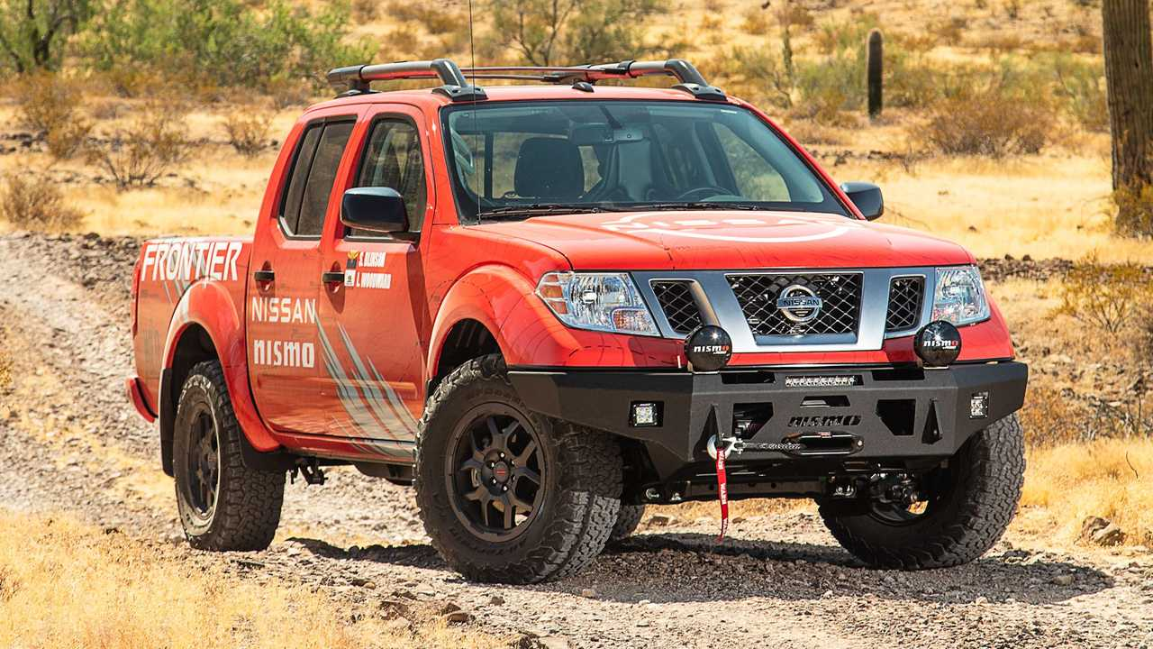 2020 Nissan Frontier Front 3/4